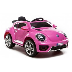 Ride On Kids Car Electric  Beetle Style 12 Volt 5246020 Scorpionwheels