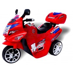Kids Motorcycle Red 6 Volt 5245020